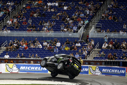 Stunt driver Terry Grant
