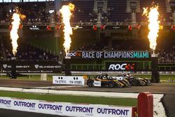 Travis Pastrana, racet Alexander Rossi, in de Radical SR3 RSX
