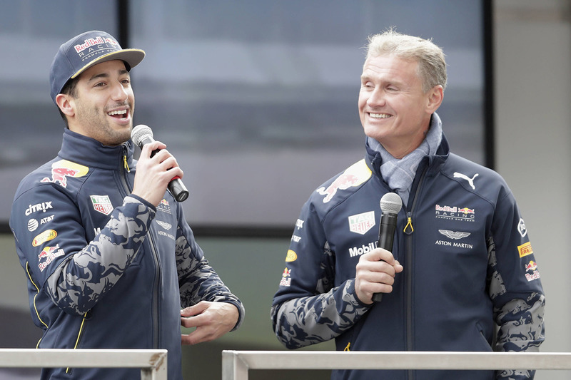 Daniel Ricciardo y David Coulthard, Red Bull Racing