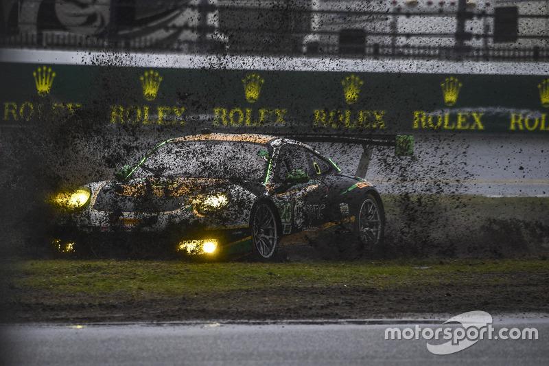 5. #28 Alegra Motorsports Porsche 911 GT3 R: Daniel Morad, Jesse Lazare, Carlos de Quesada, Michael de Quesada, Michael Christensen