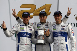 Podium GTLM: #66 Ford Performance Chip Ganassi Racing Ford GT: Joey Hand, Dirk Müller, Sébastien Bourdais