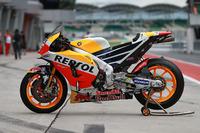 Bike von Dani Pedrosa, Repsol Honda Team
