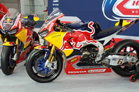 Les motos de Nicky Hayden, Honda World Superbike Team, Stefan Bradl, Honda World Superbike Team
