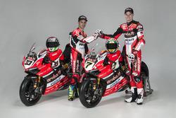 Marco Melandri et Chaz Davies, Ducati Team