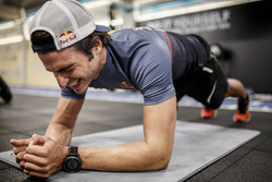 Carlos Sainz training