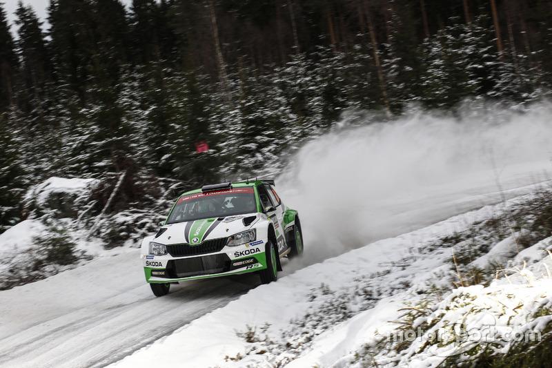 Понтус Тидеманд и Йонас Андерссон, Skoda Fabia R5, Skoda Motorsport