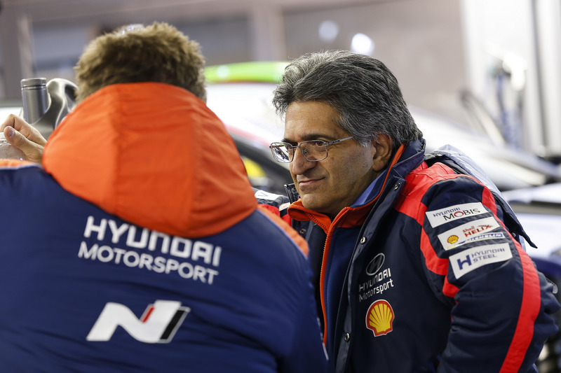 Мішель Нандан, керівник Hyundai Motorsport