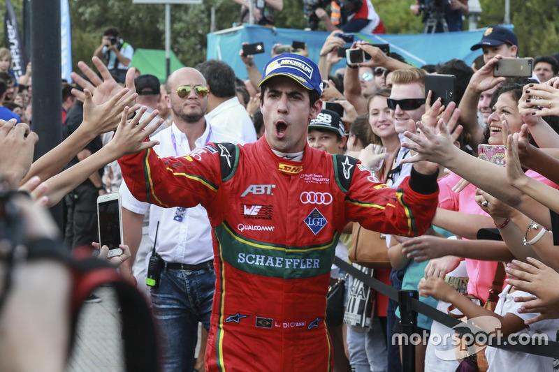Tercer lugar Lucas di Grassi, ABT Schaeffler Audi Sport