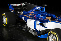 Sauber C36: Heckpartie