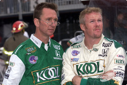 Steve Challis et Paul Tracy