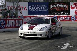 Celebrity race practice: Patrick Stewart