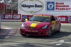 Celebrity race practice: Danica Patrick