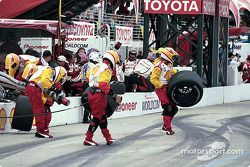 Getting ready for pitstop
