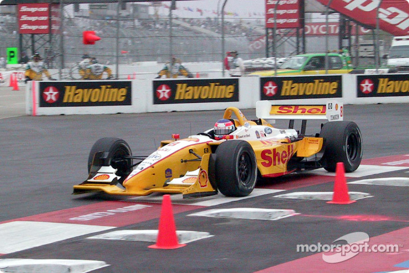 Jimmy Vasser in the morning warmup session