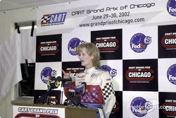 Press conference announcing the Grand Prix of Chicago