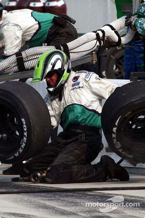 Fernandez Racing crew member