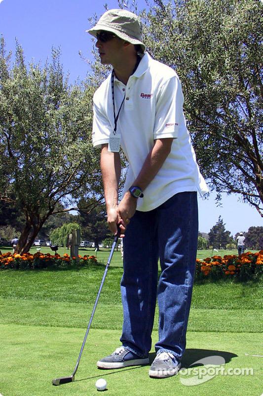 Tournoi de golf : Michel Jourdain Jr.