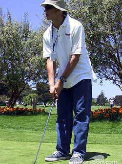 Golf tournament: Michel Jourdain Jr.