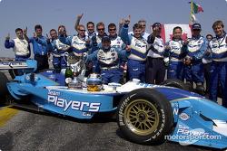 Présentation de HP sur la Williams-BMW: Juan Pablo Montoya et Ralf Schumacher