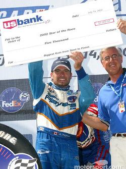 Star of the Race Award winner Alex Tagliani