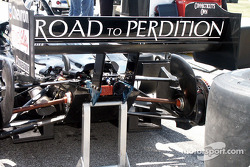 British Grand Prix Ball: Mark Webber arrive à la soirée