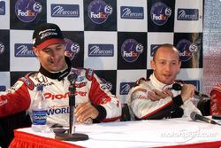Conférence de presse : le vainqueur de la pole position Cristiano da Matta