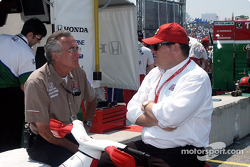 Eddie Cheever et Al Unser Jr.