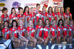 The lovely Molson Indy girls