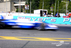 Michael Andretti in a motion blur
