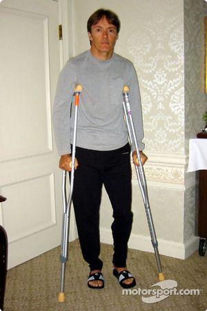 Adrián Fernández se recupera