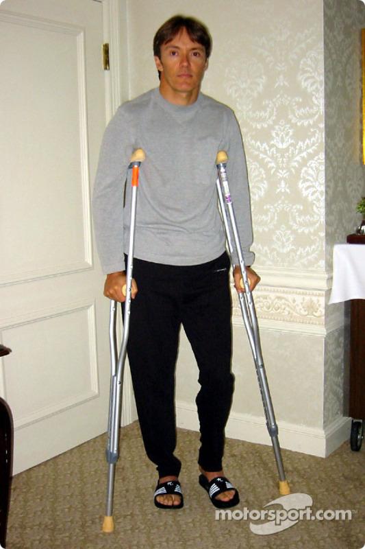 Adrian Fernandez feeling better