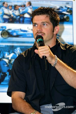 Team Player's press conference on Tuesday: Patrick Carpentier