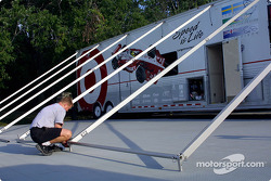 Ganassi Racing hospitality