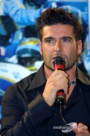 Team Player's press conference on Tuesday: Alex Tagliani