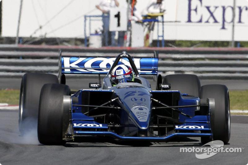 Dario Franchitti ganó en el circuito Gilles Villeneuve, cuando la Champ Car corrió allí por primera vez en 2002.
