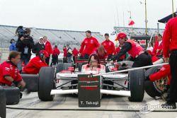 Pitstop practice for Walker Racing