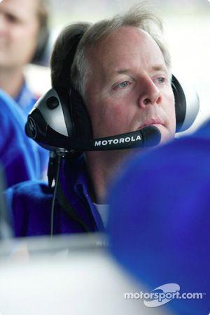 Team Motorola crew member