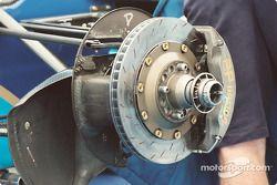 Reynard front brake ducts
