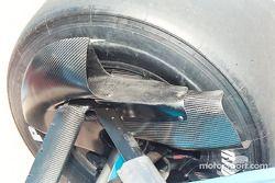 Reynard rear brake ducts
