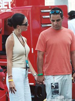 Juan Pablo Montoya y Connie