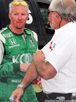 Paul Tracy and Chris Pook