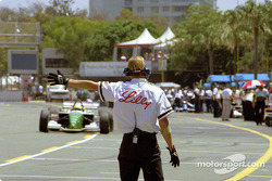 Christian Fittipaldi back in the pit