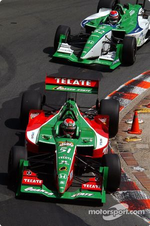 Adrian Fernandez et Shinji Nakano