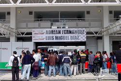Área de boxes Fernández Racing