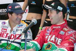 Mario Domínguez y Luis Díaz