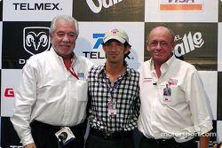 Conferencia de prensa: Chris Pook, Roberto González y Derrick Walker