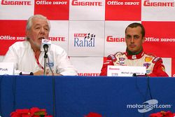 Conferencia de prensa: Chris Pook y Michel Jourdain Jr.