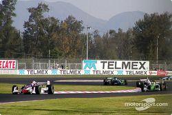 Tony Kanaan leads Christian Fittipaldi