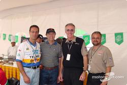 Carlos Slim, Jo Ramírez, Tom Anderson y Gustavo del Campo