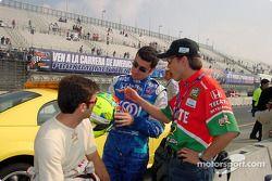 Christian Fittipaldi, Dario Franchitti e Adrian Fernandez